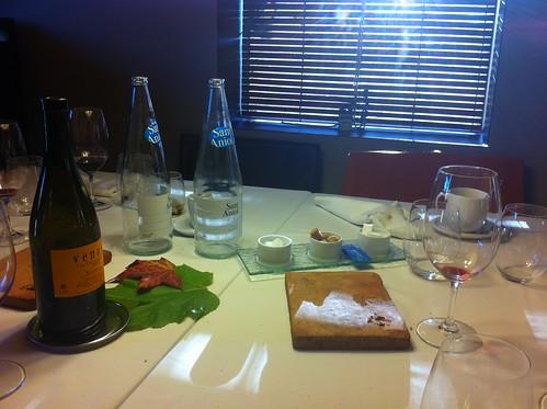 Cantonigròs | Ca l'Ignasi | La mesa después de comer