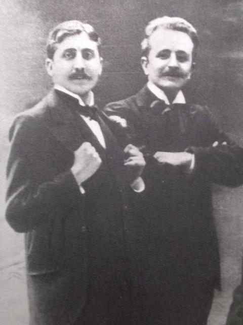Marcel Proust et Robert de Flers vers 1893