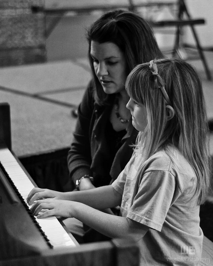 The Junior Musical Recital.