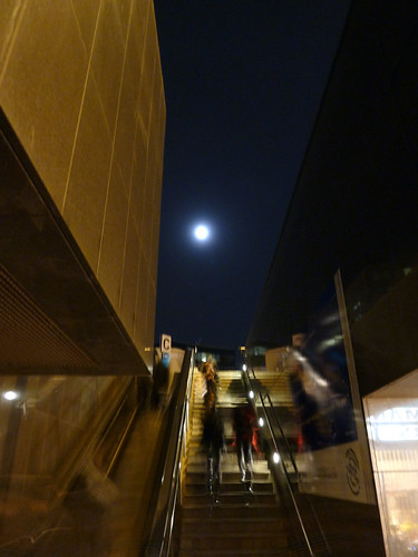 """Going to the moon"" - Brussels, Belgium 2011"