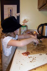 C7 shaping the cookies
