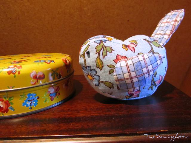 Little birdie pincushion