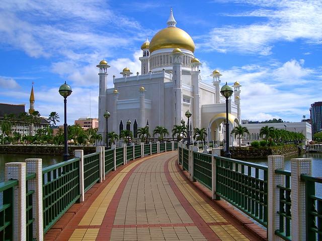 Sultan Omar Ali Saifuddin Mosque, Bandar Seri Begawan (B.S.B.), Brunei