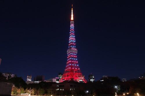 東京タワー・クリスマス・ダイアモンドヴェール The Tokyo Tower
