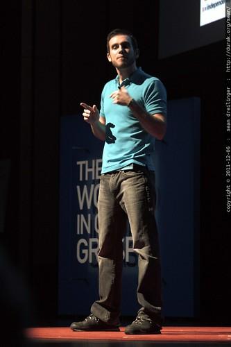 Charlie Morley @ TEDx San Diego 2011    MG 3507