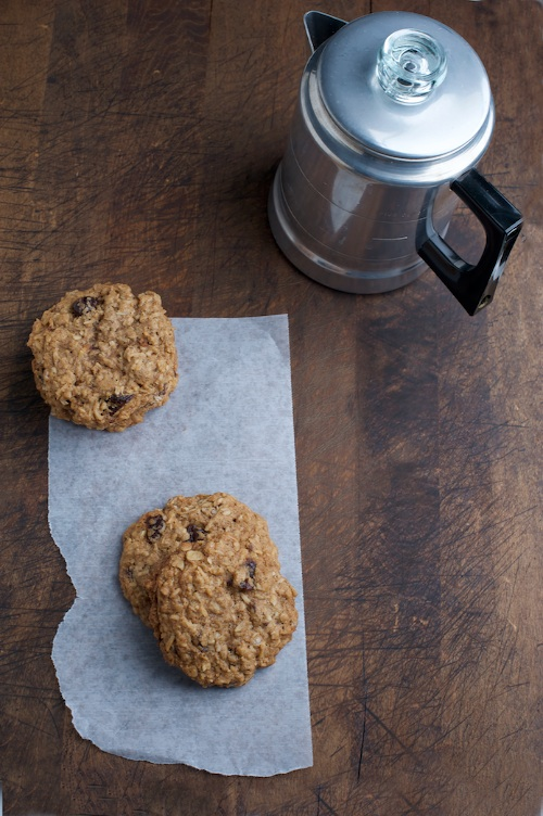 cookies and coffee pot