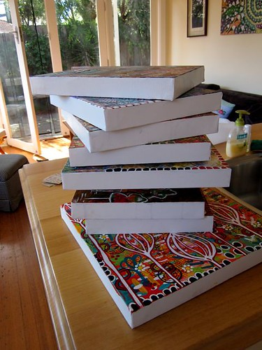 Stacks of art