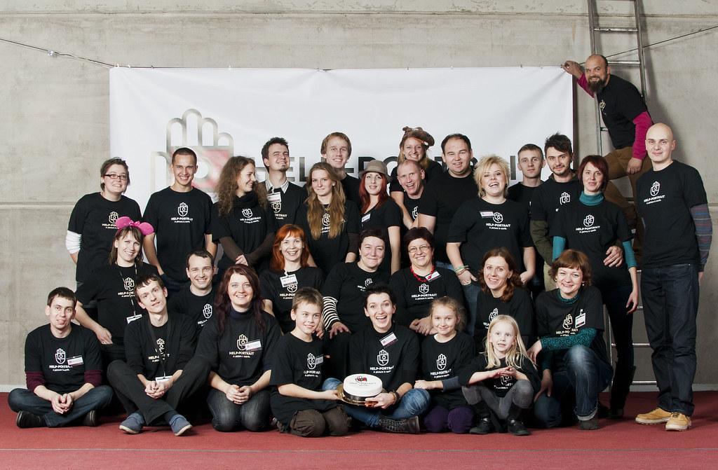 Help-Portrait Kaunas 2011 team