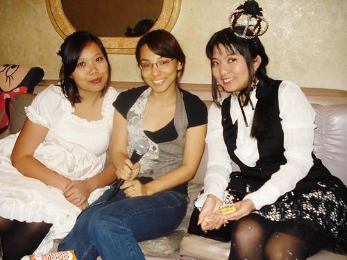 Kari, Erin, and Aileen