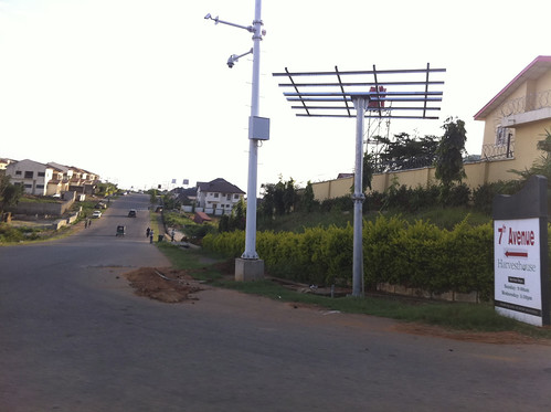 $470m CCTV Cameras installed in Abuja, Nigeria by ZTE Corporation of China. by Jujufilms