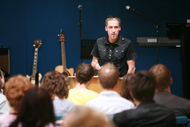Clive Urquhart teaching at Kingdom Faith College