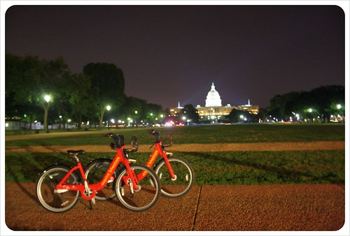 Bikes & Capitol Building Washington DC
