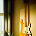 Fender Precision Bass Guitar in the Sunrise/Sunset