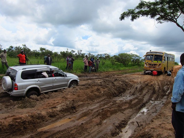 Stuck in the Mud in Western Tanzania