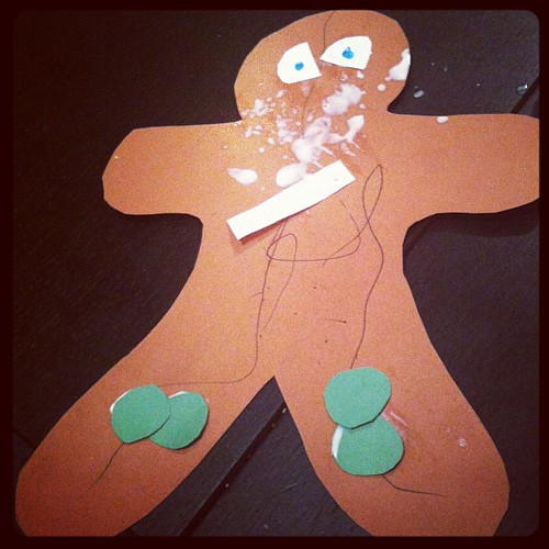 Grey's gingerbread man