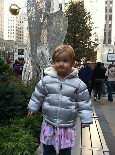 Uninterested in the Rockefeller Center tree