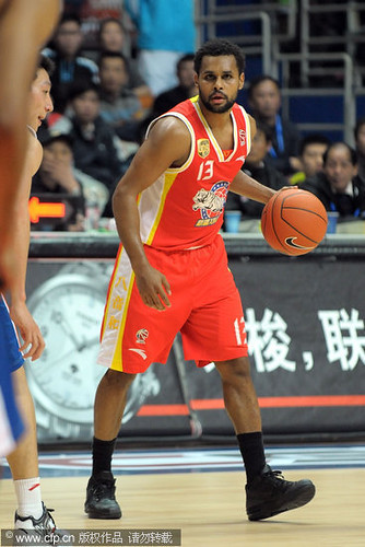 December 14th, 2011 - Patty Mills in a game against the Shanghai Sharks