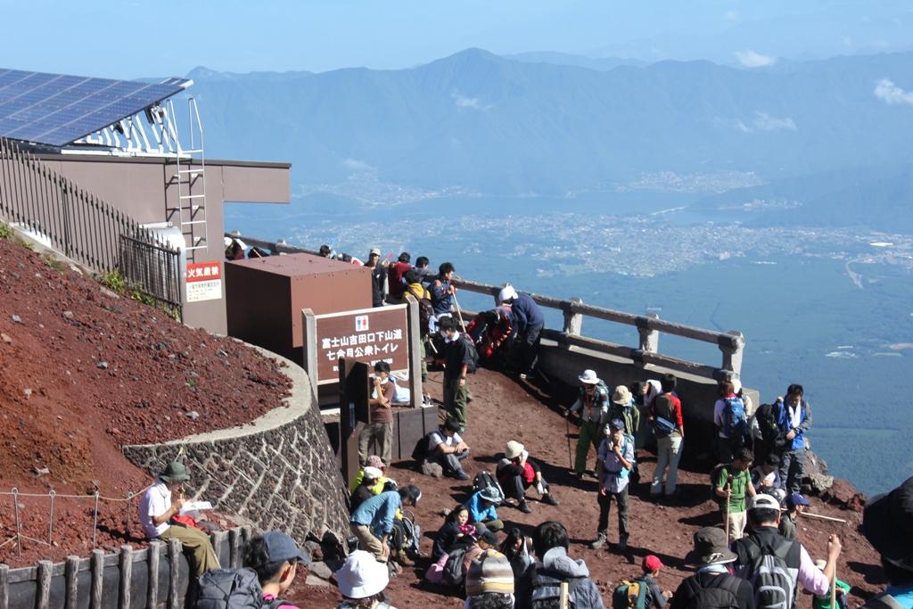 Mt. Fuji experience report (Yoshida route) Part4 (17)