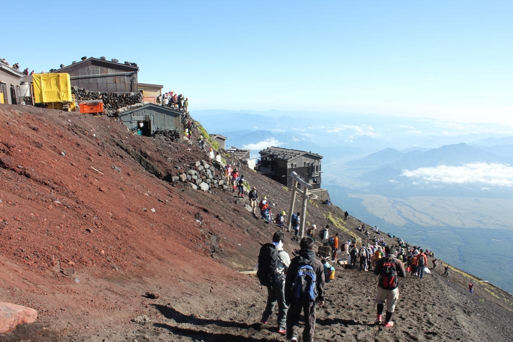 Mt. Fuji experience report (Yoshida route) Part4 (12)