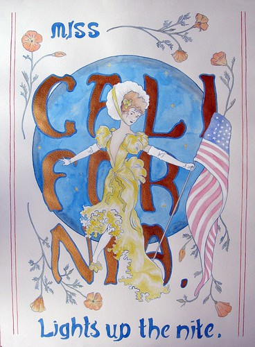 "Christina Corfield ""Poster 1"""