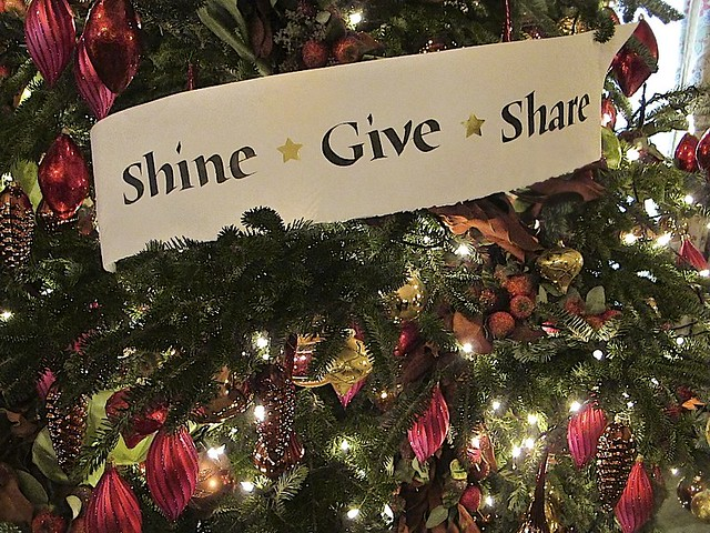 Shine, Give, Share, Christmas Theme 2011