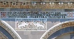 Duomo, facade detail, Pisa, Italy 2010-17