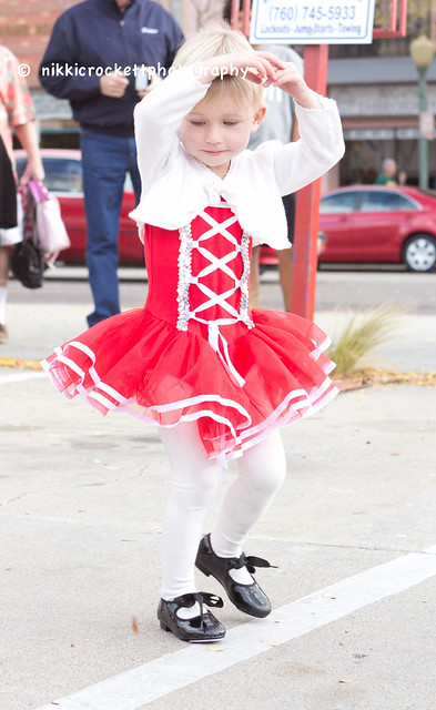 My little lady had her first dance recital over the weekend!  She did great!