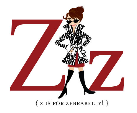 Z is for Zebrabelly!