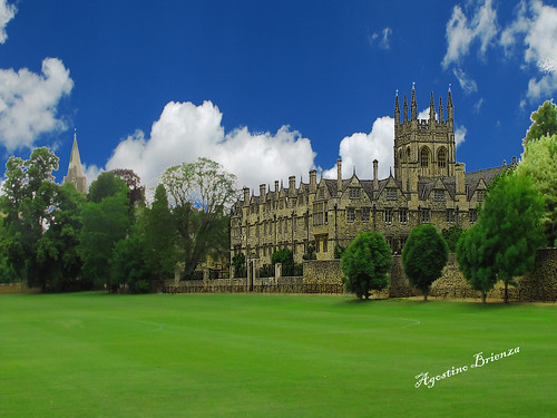 Oxford from life of Jane Austen