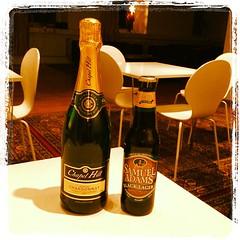 Chapel Hill Chardonnay & Samuel Adams Black Lager