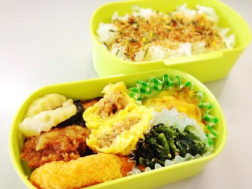 今日のお弁当 No.245 – 鰹みりん焼