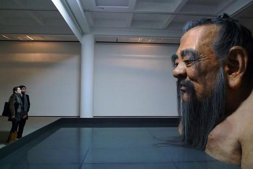 Zhang Huan: Q Confucius  - Rockbund Art Museum - Shanghai, China