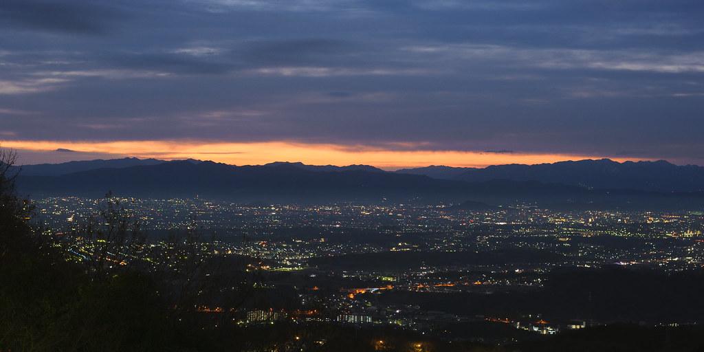 The first sunrise on Mt. Shigi 6:26