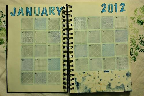 2012 Calendar Journal