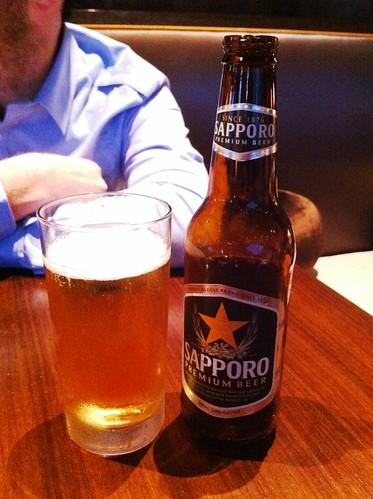 Sapporo Japanese Beer, Nobu