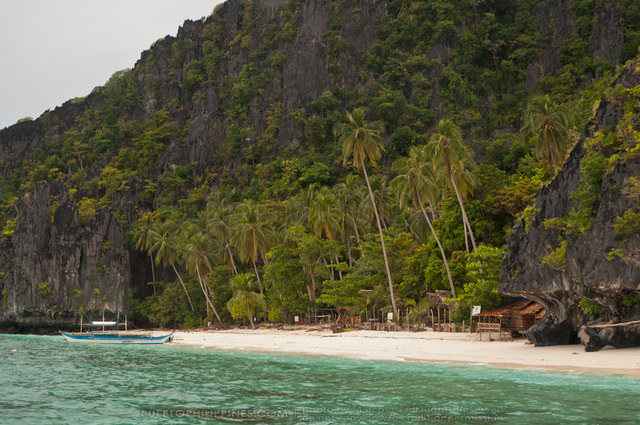Entalula Island, Tour A + B - El Nido, Palawan (111201-12)
