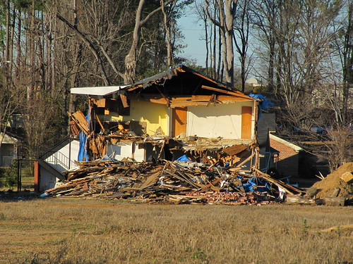 Tuscaloosa Tornado Damage
