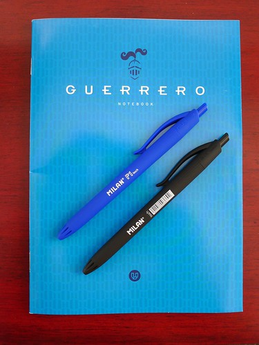 Guerrero Notebook & Milan Ballpoints