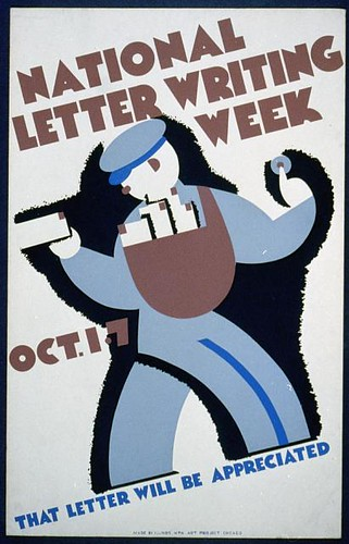 National letter writing week, Oct. 1-7 (LOC)