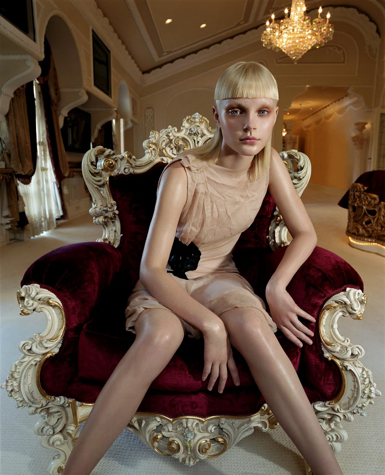 Steven Meisel for Vogue Italia Sep 2003 featuring Jessica Stam