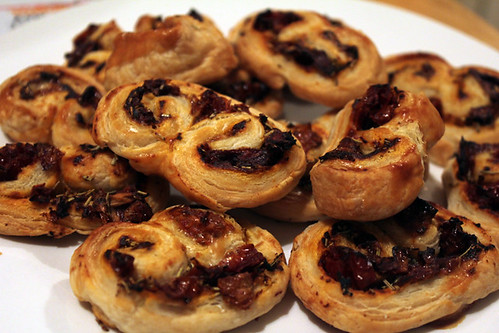 Tomato Palmiers