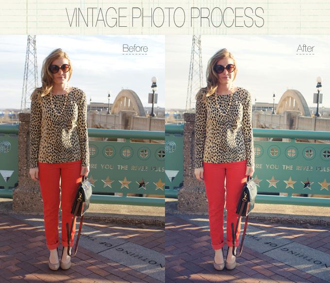 vintage photo process tutorial