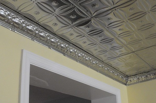 kitchen after -- tin ceiling