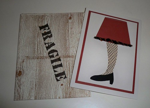 Christmas Story Leg Lamp Card