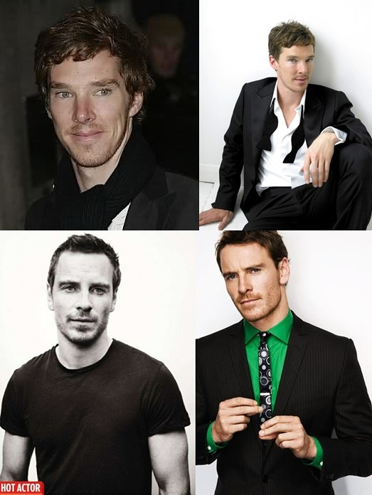 Cumberbatch Fassbender Collage