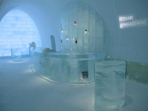 Icebar, Ice Hotel, Jukkasjärvi