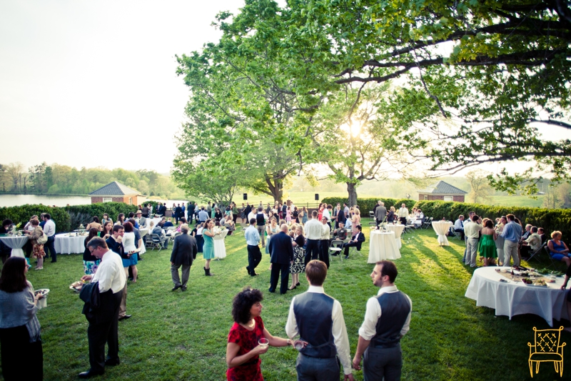 gray and yellow outdoor vintage wedding_071