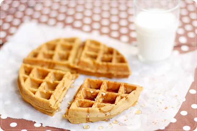 Gingerbread Waffles | Evan's Kitchen Ramblings
