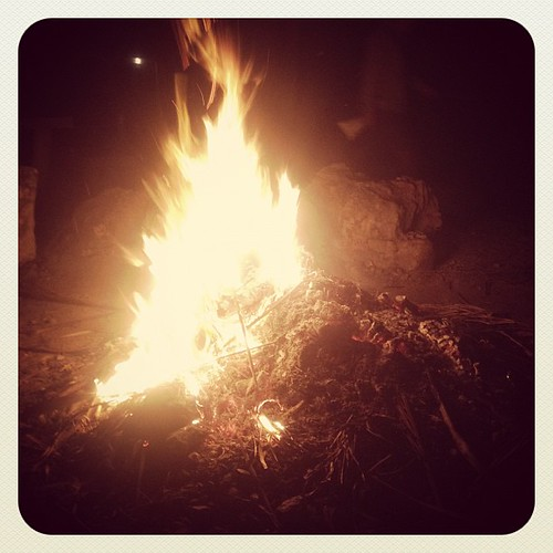 Bonfire with friends...yes please. http://instagr.am/p/fUVg1/