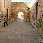 Rethymnon Street View and Graffiti - Crete